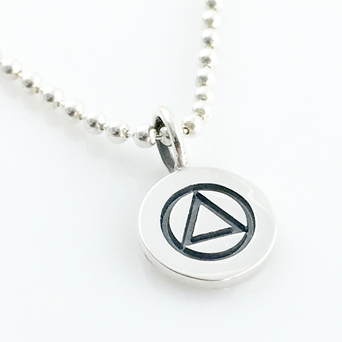 AA Symbol Charm Necklace