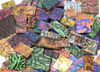 1 lb Van Gogh Stained Glass Jumbled Mix Mosaic Tiles - Assorted Colors
