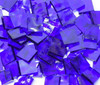 Majestic Blue English Muffle Hand Cut, Stained Glass Mosaic Tiles