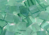 Sea Green Wispy Stained Glass Mosaic Tiles