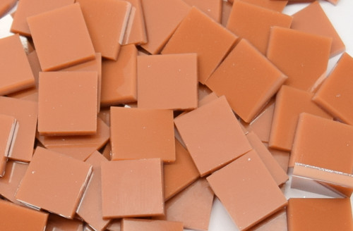Bulk Discount - Terracotta Opal System 96 Stained Glass Mosaic Tiles