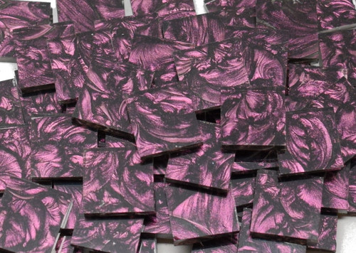 Bulk Discount - Purple Van Gogh Stained Glass Mosaic Tiles