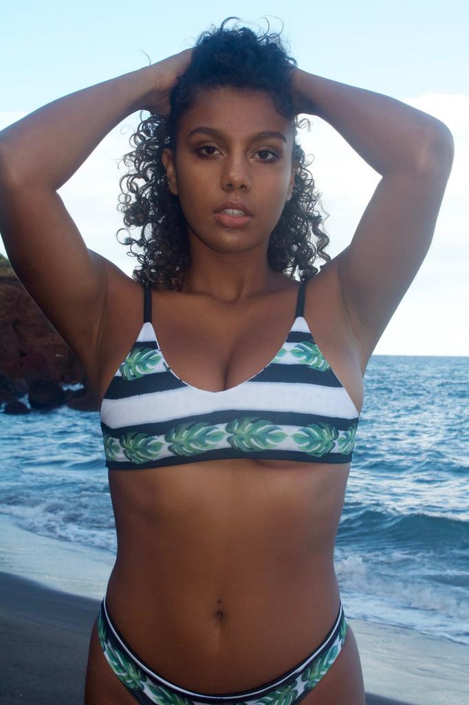 Lokelani Reversible Adjustable Strap Bralet Bikini Top Choose from 50+ fabrics