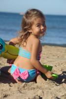 Arista Baby Bikini BOW BOTTOMS with Adjustable Tie  Bikini Bottoms  Customize Size & Choose from 50+ Fabrics