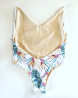 A BALI Reversible high cut ONE PIECE 1 pc  bathing suit suit Customize Size & Choose from 50+ Fabrics 8