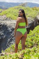 Puna High Hip Style Reversible MID High Waisted Swimwear Bikini Bottoms Customize Size & Choose from 50+ Fabric Facebook