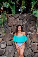 Pali Long Ruffle 1 Pc Style Size 0 to xxl Plus Size One Piece Bathing suit Customize Size & Choose from 50+ Fabrics
