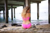 A Wailea Reversible  Scrunch Butt Cheeky Hipster Bikini Bottom  Customize Size & Choose from 50+ Fabrics