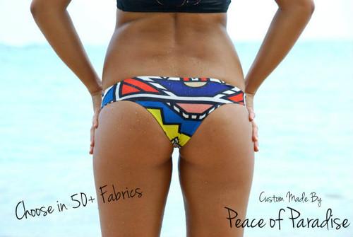 Kaisers REVERSIBLE Brazilian Bikini Bottoms  Customize Size & Choose from 50+ Fabrics