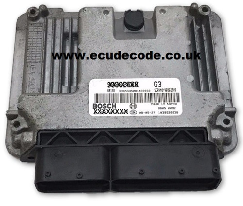 Service 0 281 014 748, 0281014748, EDC16C39-5.M8, 96862289, Chevrolet Bosch ECU Services