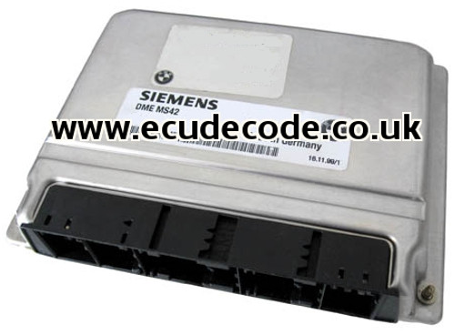 For Sale With Service  5WK9037  DME MS42 7500255 BMW - ECU  Plug & Play