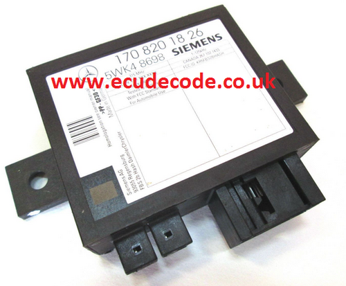 For Sale With Service  1708201726  170 820 17 26  5WK48697  5WK4 8697 Mercedes Immobiliser Module  Plug & Play
