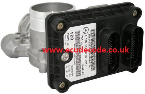 For Sale With Service  A1661412225  412.260/003/004  A 166 141 22 25  MSM2  Mercedes Petrol ECU & Air Flow Meter  Plug & Play