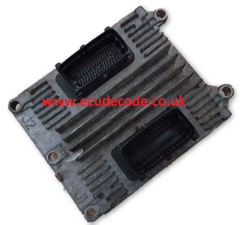 For Sale With Service  09391263  12202143  DLTT  Vauxhall Astra Zafira Petrol ECU
