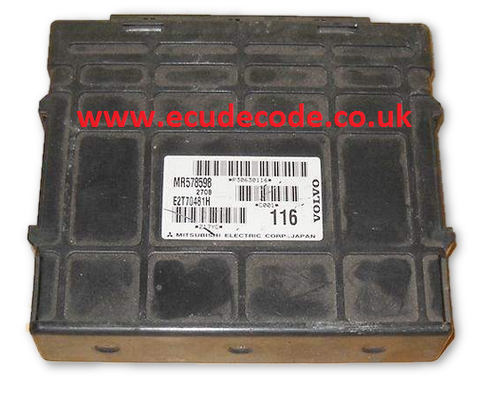 For Sale With Service  MR578598 E2T70481H P30630116 VOLVO 1.8GDI Plug & Play