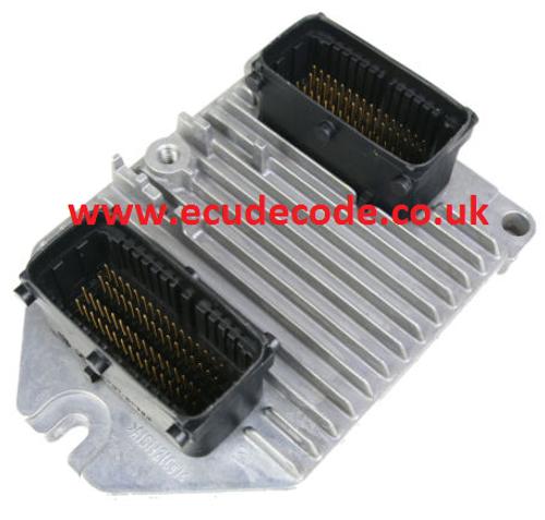 For Sale With Service  09 158 670  09158670  5WK9153  Simtec 71  Vauxhall Petrol ECU  Plug & Play