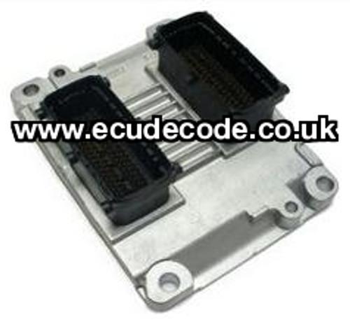 For Sale With Service  0 261 207 964  0261207964  55350550  55 350 550 ME 7.6 H4  Vauxhall Petrol ECU  Plug & Play