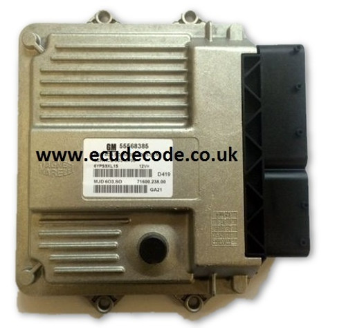 For Sale With Service  55198931 CJ  MJD603.SA - MJD603.S3  Z13DTH  Z13DTJ Corsa Combo  Plug & Play