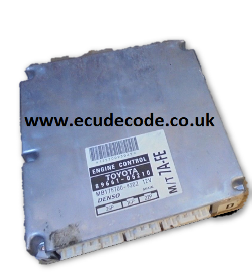 For Sale With Service  89661-05210 MB175700-9302 M/T 7A-FE  ECU  Plug & Play