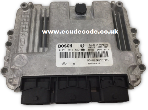 For Sale With Service  0 281 011 529  0281011529 8200051608  Renault Diesel ECU  Plug & Play