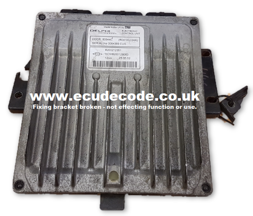 For Sale With Service  H0M8200129063  80944C  R0410C934A  DDCR  ECU  Plug & Play