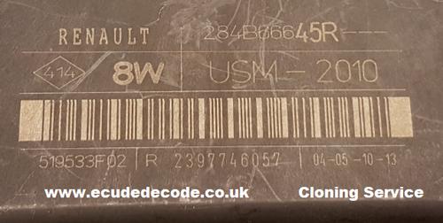 For Sale With Service  284B66645R  USM-2010  519533F02 R 2397746057 Renault Body Module  Plug & Play