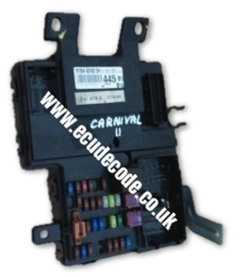 mn108329 a4545400124 1059 4115 smart car forfour body fuse box rh ecudecode co uk
