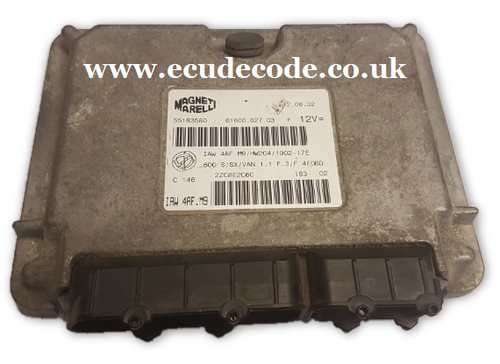 "For Sale with Service  IAW 4AF.M9  55183580 61600.627.03 Engine ECU "" Plug & Play """