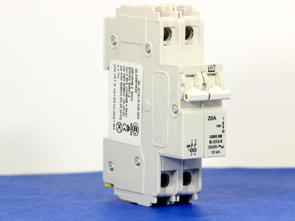 QLD28KM20 (2 Pole, 20A, 120/240VAC; 240VAC, UL Listed (UL 489))