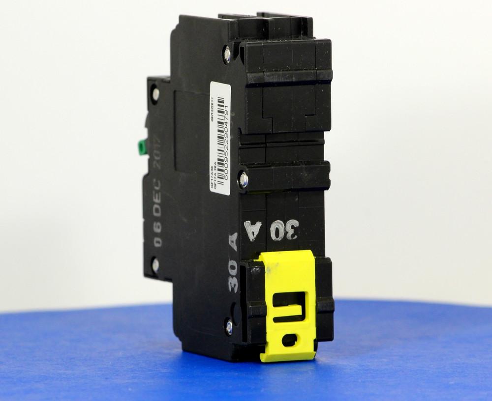 QF17A30 (1 Pole + Neutral, 30A, 240VAC, UL 1053, GFI/ Earth Leakage)