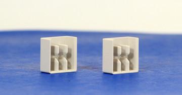 A1 Endcaps (Set = 2 Endcaps) for CBI 2 & 3 Pole Busbars: Q1234L & Q1282L