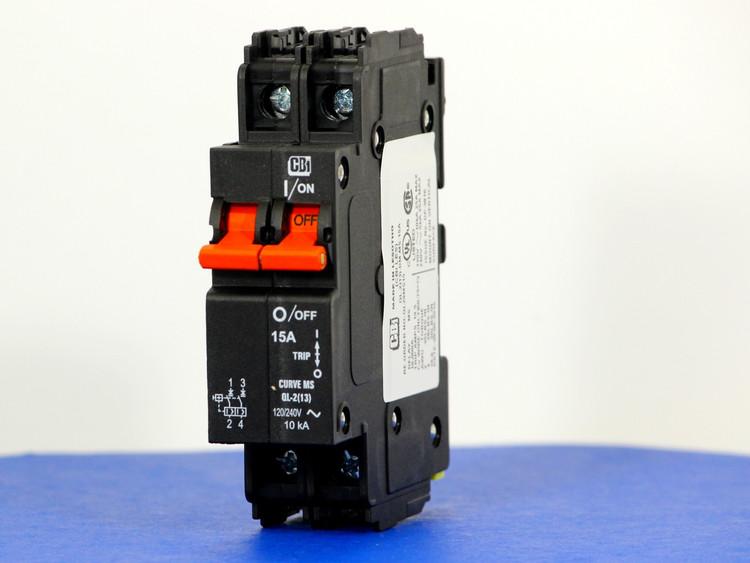 QL29MS15 (2 Pole, 15A, 120/240VAC; 240VAC, UL Listed (UL 489))