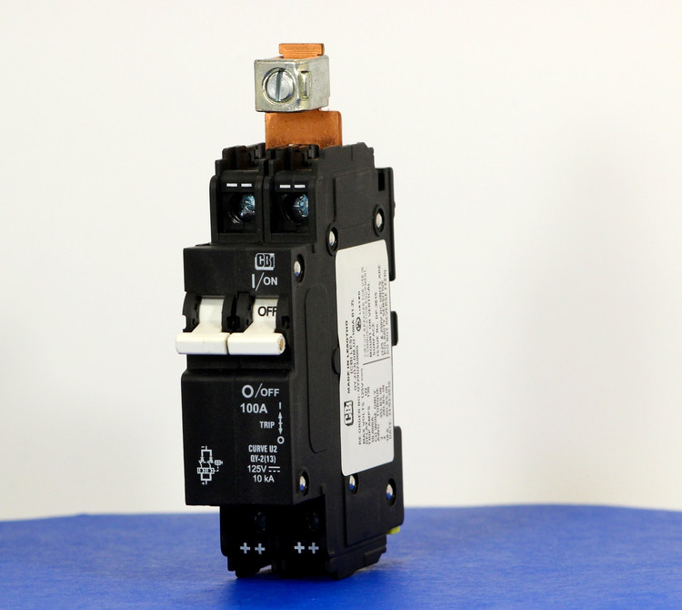 QY29U2X0005 (2 Pole, 100A, 125VDC, UL Listed (UL 489))