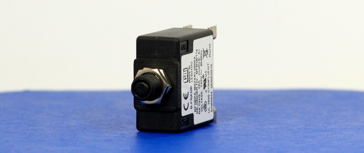 BFBQ0114 (1 Pole, 25A, 240VAC, Clamp Terminal, Series Trip, UL Recognized (UL 1077))