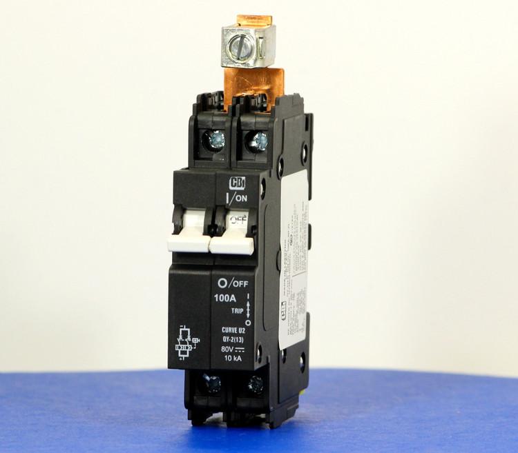 QY28U2100B0ZL (2 Pole, 100A, 80VDC, UL Listed (UL 489))