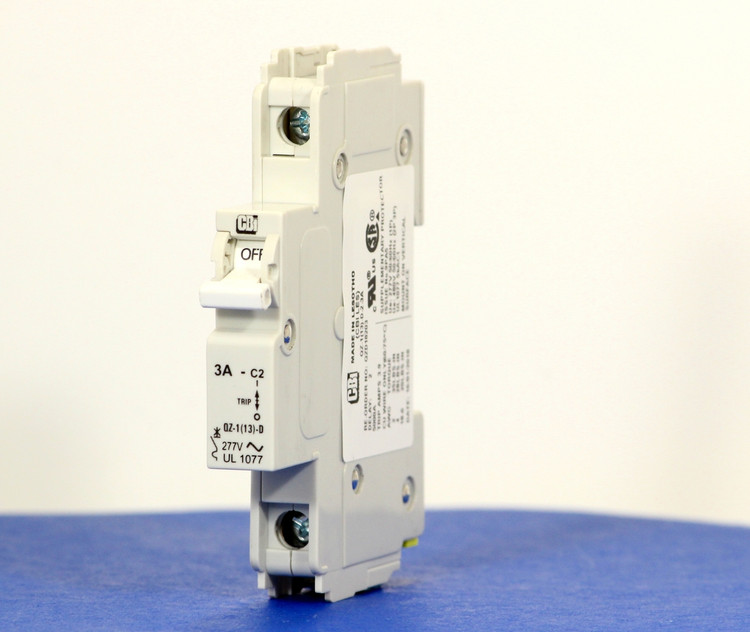 QZD18203 (1 Pole, 3A, 277VAC, UL Recognized (UL 1077))