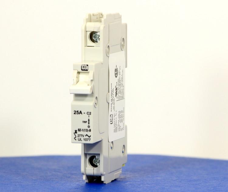 QZD18225 (1 Pole, 25A, 277VAC, UL Recognized (UL 1077))