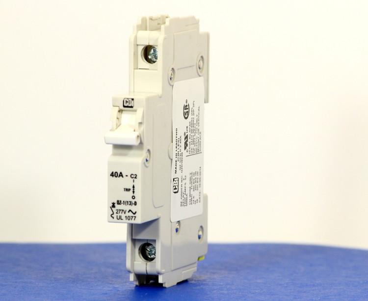 QZD18240 (1 Pole, 40A, 277VAC, UL Recognized (UL 1077))