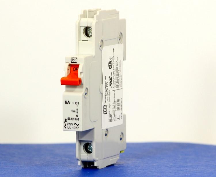 QZD18106 (1 Pole, 6A, 277VAC, UL Recognized (UL 1077))