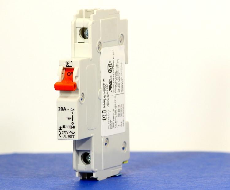 QZD18120 (1 Pole, 20A, 277VAC, UL Recognized (UL 1077))