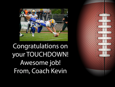 Touchdown! Gift box