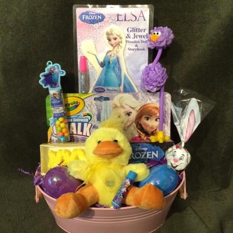 Frozen Easter Basket