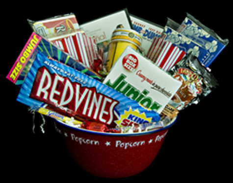 It's Movie Night Basket