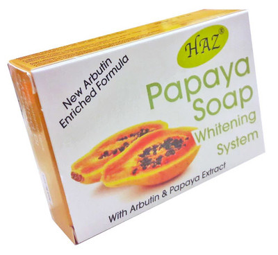 Papaya Skin Lightening Soap with Arbutin