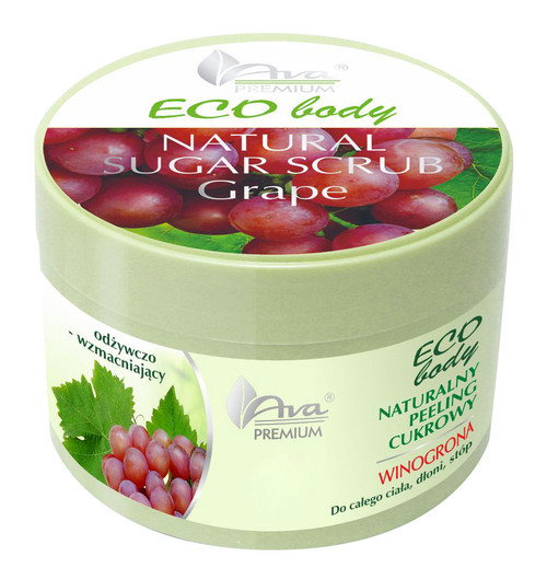 Organic Body Exfoliator With Grape Seed