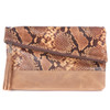 Dentali Clutch in Sunrise Snakey