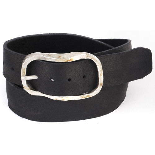 Sirah Leather Belt in Black