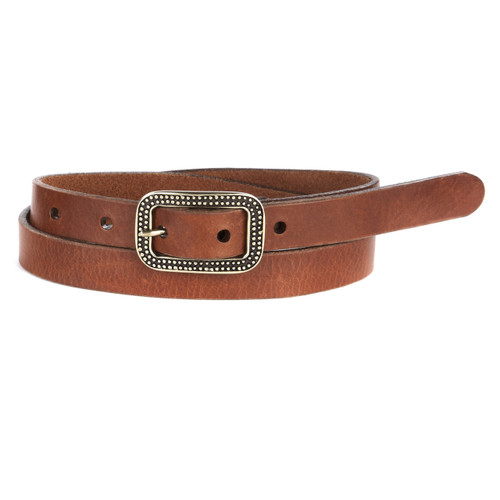Maisie belt in Brandy