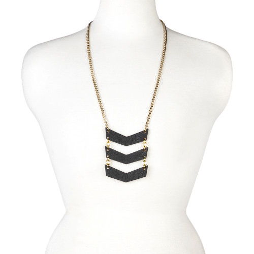 Ivy Leather Necklace