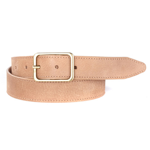 Tala Leather Belt in Tan Buffalo